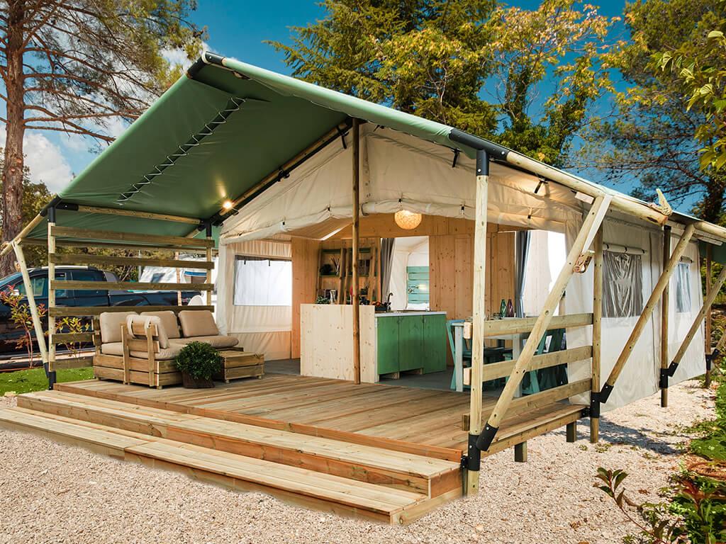 Case Mobili Nuove : Nuove case mobili e tende glamping nel boutique campsite santa