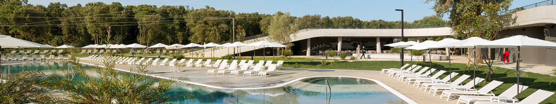 New mobile homes, water park, pool complex and prestigious awards in campsites in Istria
