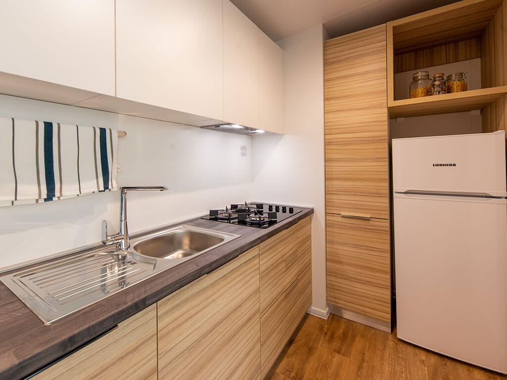 New Mobile Homes And Renovated Sanitary Points At The Campsite Amarin
