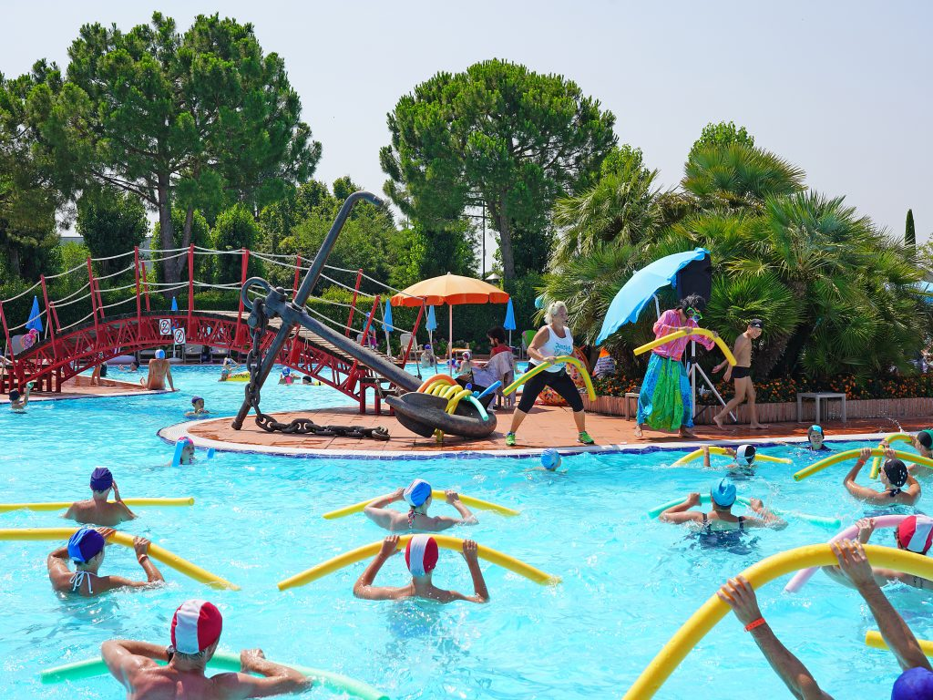 Kamp Zaton Holiday Resort terasa restorana